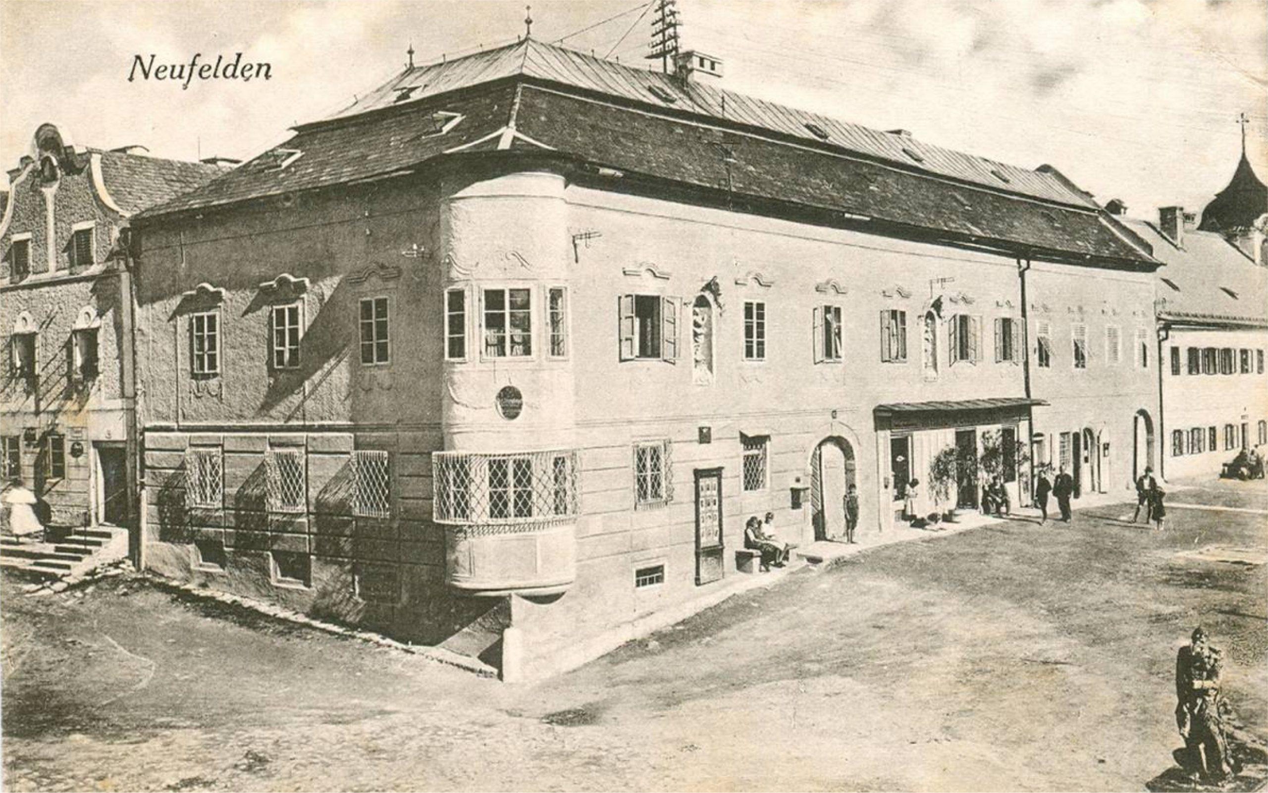 Marktplatzerl Geschichte des Hauses Neufelden Quelle Topothek Neufelden